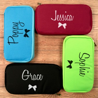 Personalised Travel Document Holder for Her