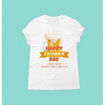 Personalised Father's Day T-Shirt