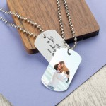 Personalised Men's Dog tag Army ID