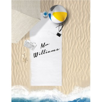 Personalised Towel Large 70x150cm