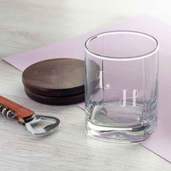 Personalised Engraved Whiskey Glass