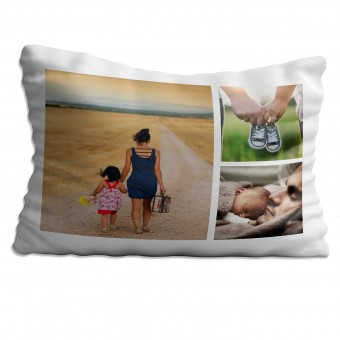 Personalised Photo Collage Pillowcase Up to 3 Photos