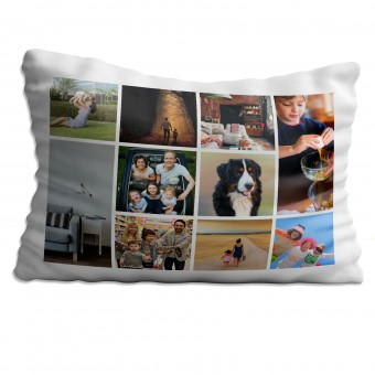 Personalised Photo Collage Pillowcase Up to 10 Photos