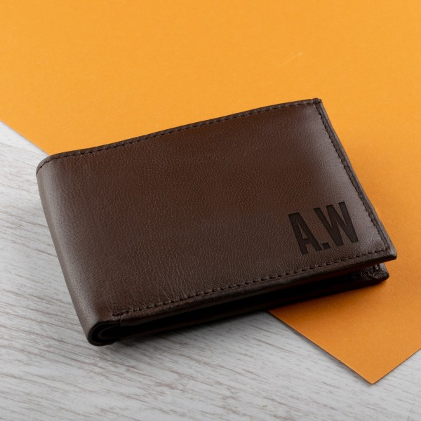 Personalised Real Leather Wallet