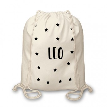 Personalised Name Kids Gym Bag
