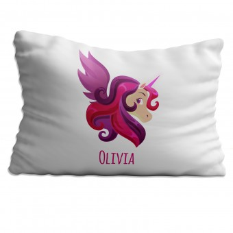 Personalised Unicorn Pillowcase